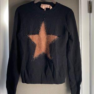 No. 21 black star sweater, IT 40